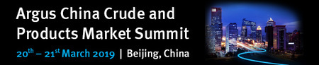 Argus China Crude and Products Markets Conference 2019 in Beijing - March 19'