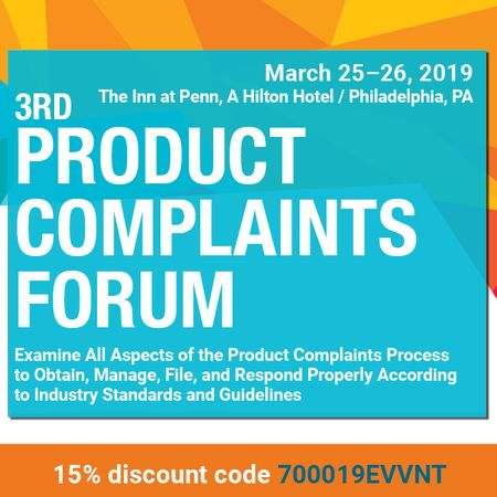 3rd Product Complaints Forum