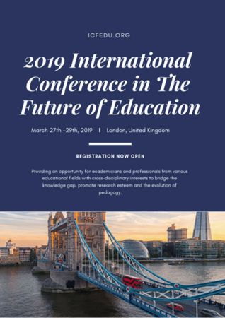 2019 International Conference in the Future of Education in London - March