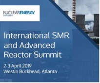 International SMR and Advanced Reactor Summit 2019