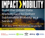 IMPACT>MOBILITY, 24-25 June 2019, Amsterdam, The Netherlands
