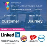 Brand Marketing Summit Europe 2019, London, UK