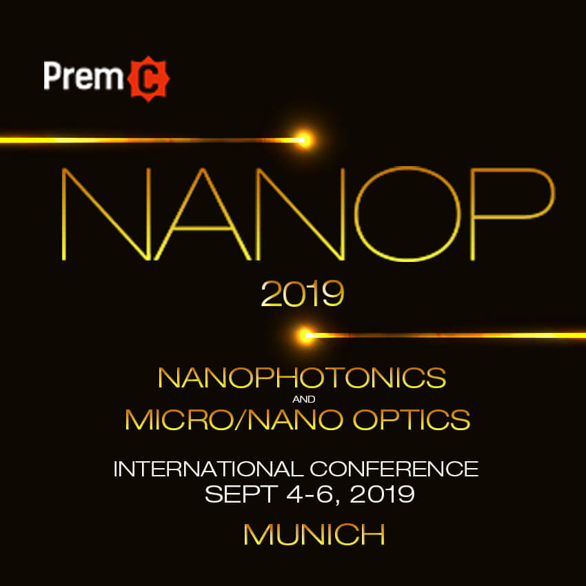 Nanophotonics and Micro/Nano Optics International Conference 2019