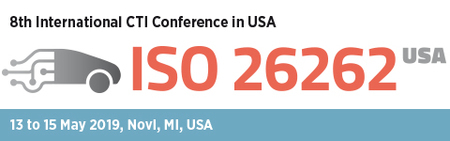 8th International CTI Conference ISO 26262 USA