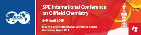 2019 SPE International Conference on Oilfield Chemistry-Galveston, Texas