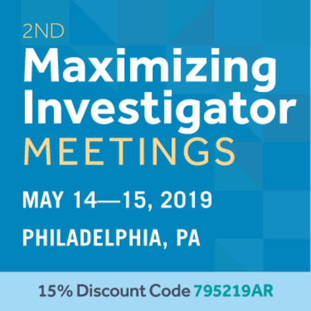 2nd Maximizing Investigator Meetings