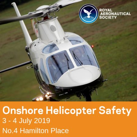 Onshore Helicopter Safety in London - 3/4 July 2019