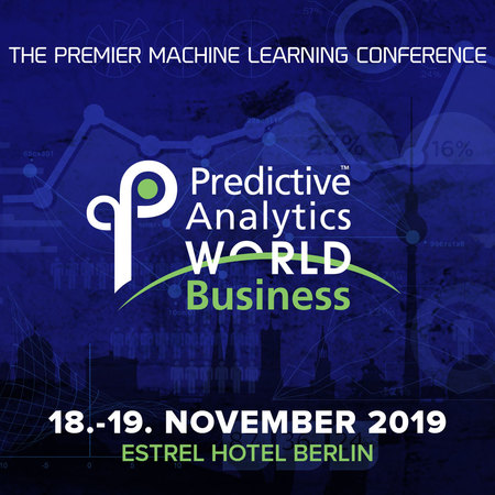 Predictive Analytics World - Berlin 2019