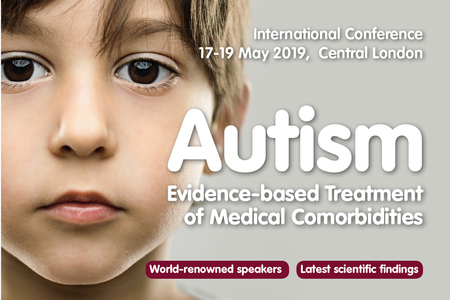 Thinking Autism Conference: 'Evidence-based Treatments' May 2019 London UK