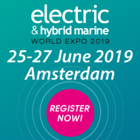 Electric and Hybrid Marine World Expo 2019, Amsterdam RAI, The Netherlands