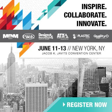 The Largest Advanced Design &  Manufacturing Event on the East Coast