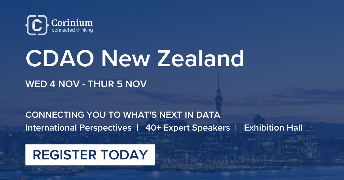 Chief Data and Analytics Officer New Zealand Conference