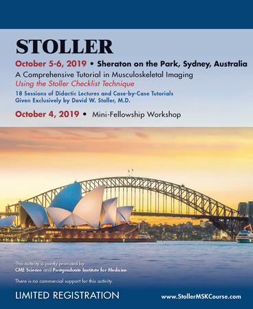 Stoller: A Comprehensive Tutorial in Musculoskeletal Imaging in Sydney