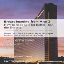 Breast Imaging From A to Z: How to Read Like ( Or Better Than!) The Experts