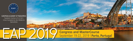 European Academy of Paediatrics Annual Meeting September 19-22, Portugal