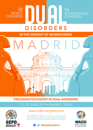 III World Congress and VI International Congress on Dual Disorders ICDD2019