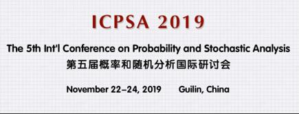The 5th Int'l Conference on Probability and Stochastic Analysis (ICPSA-N 2019)