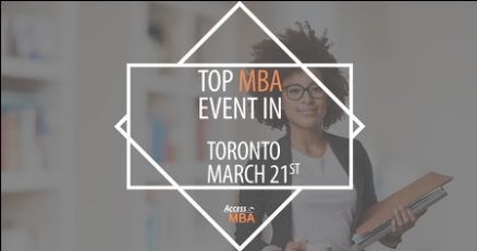 One-to-One MBA Event in Toronto, 2019