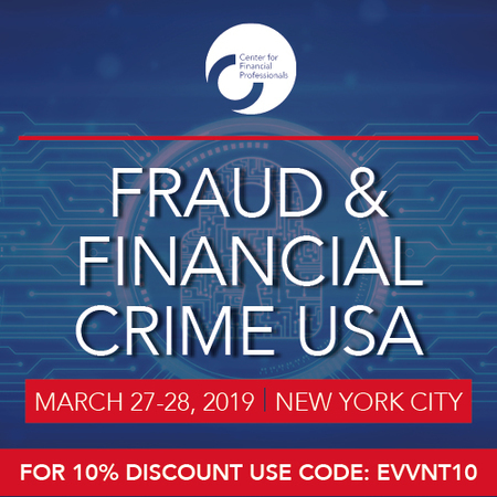 Fraud and Financial Crime USA 2019 | March 27-28, 2019 | New York City