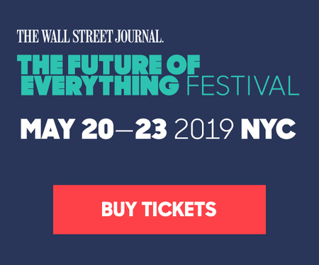 Wall Street Journal Future Of Everything Festival, NYC