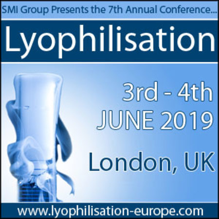 7th Annual Lyophilisation Conference, 3rd - 4th June 2019, London, Uk