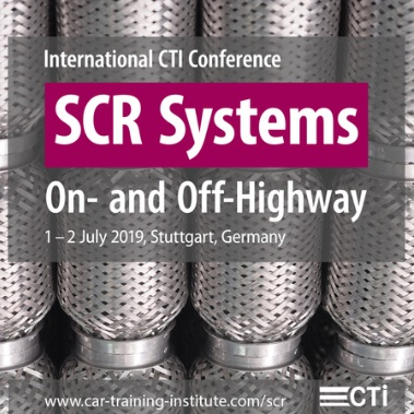 SCR Systems - w. Inc session concerning Off-Highway in Stuttgart - July 19