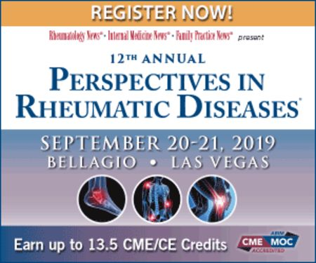 12th Annual Perspectives in Rheumatic Diseases Conference