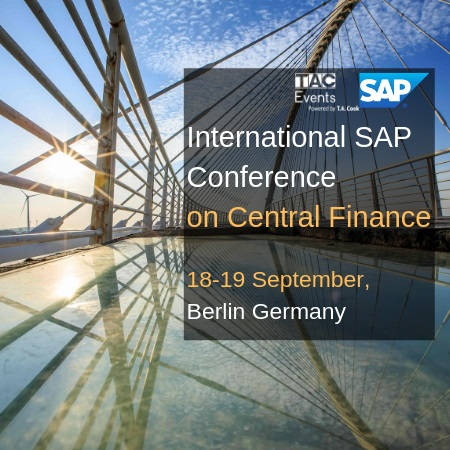International SAP Conference on Central Finance