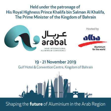 The Arab International Aluminium Conference and Exhibition (ARABAL) 2019
