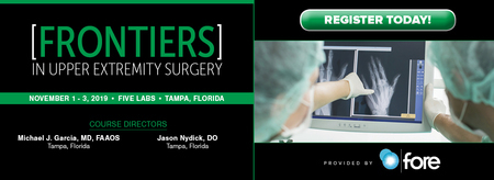 5th Annual Frontiers in Upper Extremity Surgery