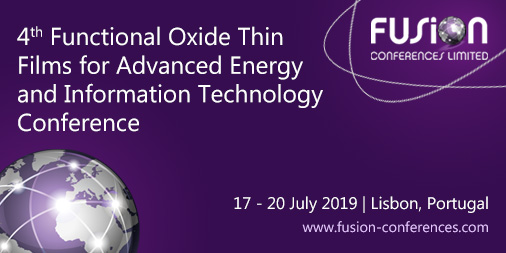 4th Functional Oxide Thin Films for Advanced Energy and Information Technology Conference