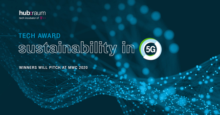 TECH AWARD: SUSTAINABILITY IN 5G