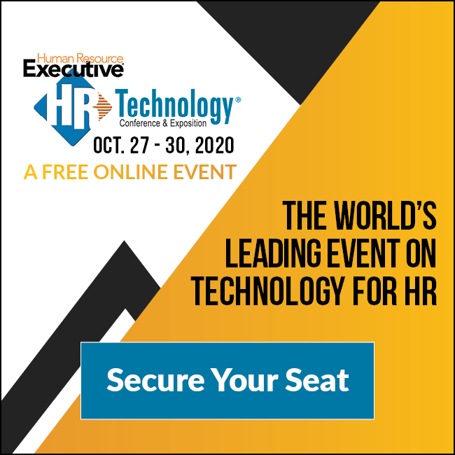 World-Famous HR Technology Event, Oct. 2020