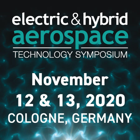 Electric and Hybrid Aerospace Technology Symposium Cologne, Germany Nov 2020