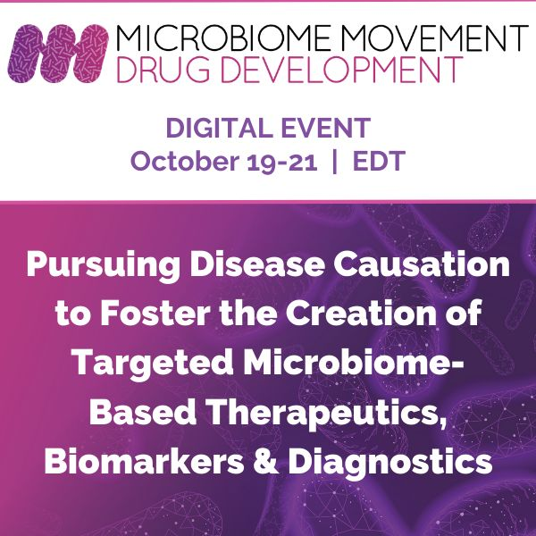 5th Microbiome Movement Drug Development Summit 2020 - Digital Event