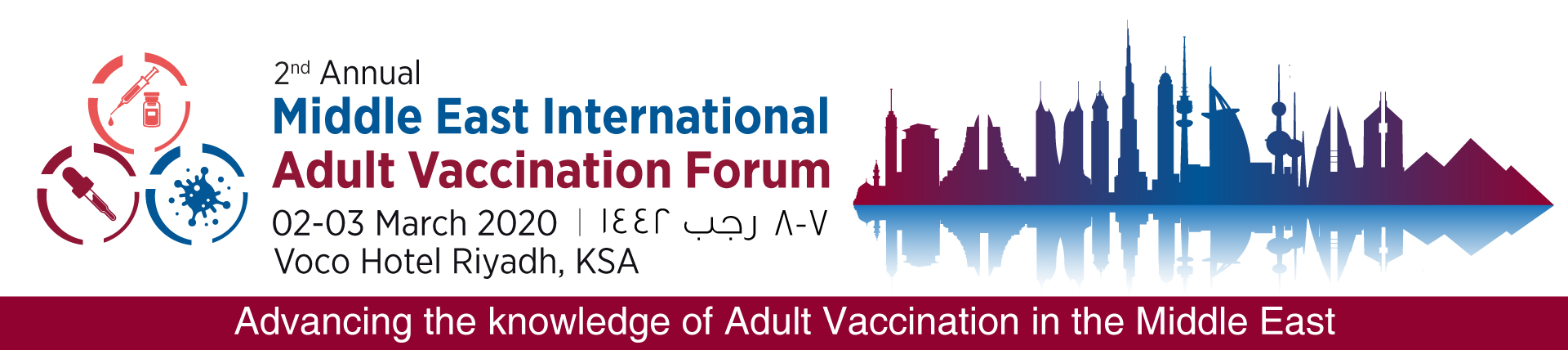 The 2nd Middle East International Adult Vaccination Forum