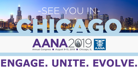 American Association of Nurse Anesthetists (AANA) 2019 Annual Congress