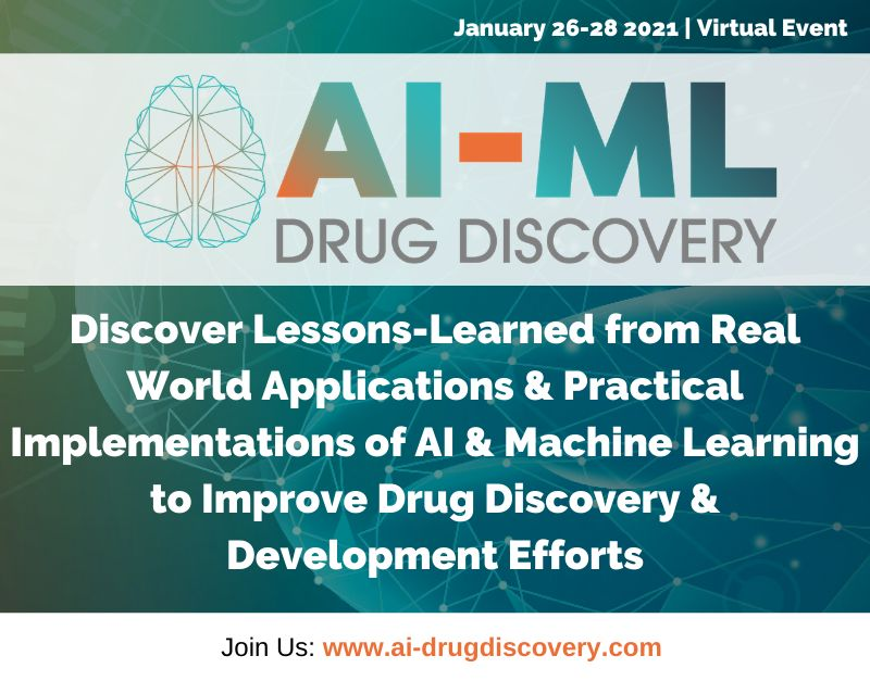 4th AI-ML Drug Discovery Virtual Conference
