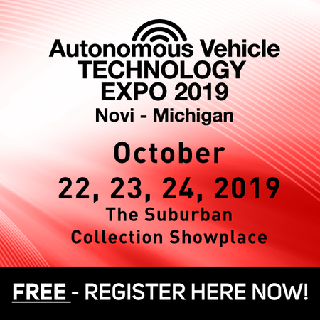 Autonomous Vehicle Technology Exhibition in Novi, Michigan - October 2019