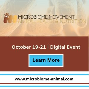 3rd Microbiome Mvmt - Animal Health and Nutrition 2020