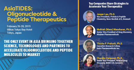 AsiaTIDES: Oligonucleotide and Peptide Therapeutics | Tokyo, Japan