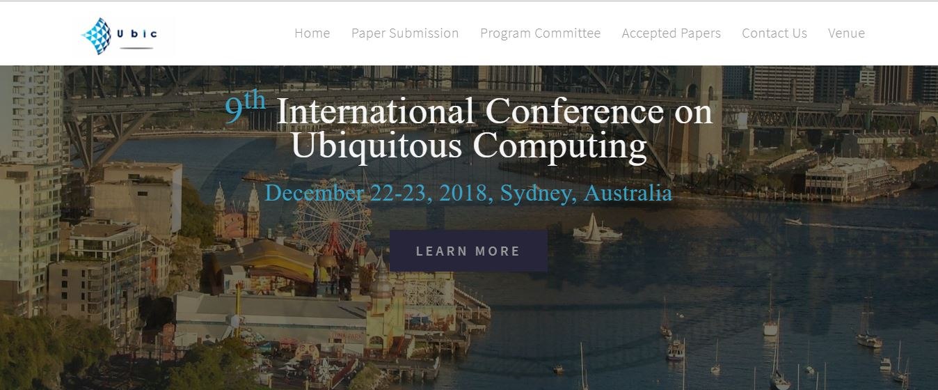 9th Int. Conf. on Ubiquitous Computing
