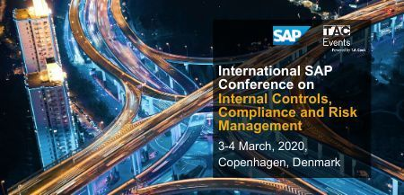 SAP Conference on Internal Controls, Compliance and Risk Management