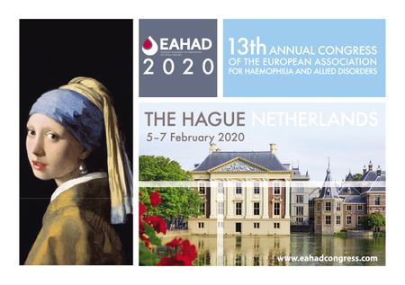 13th EAHAD Congress | 5-7 February 2020 | The Hague, Netherlands, EAHAD2020