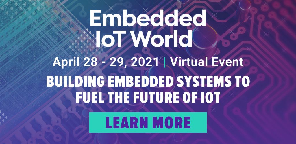 Embedded IoT World Virtual Event