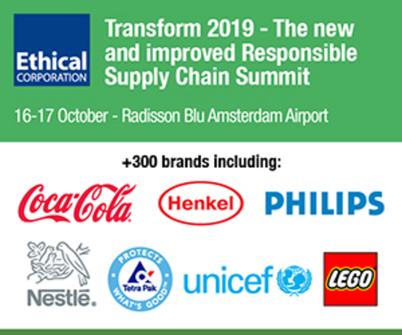 Transform 2019 - the new and improved Responsible Supply Chain Summit