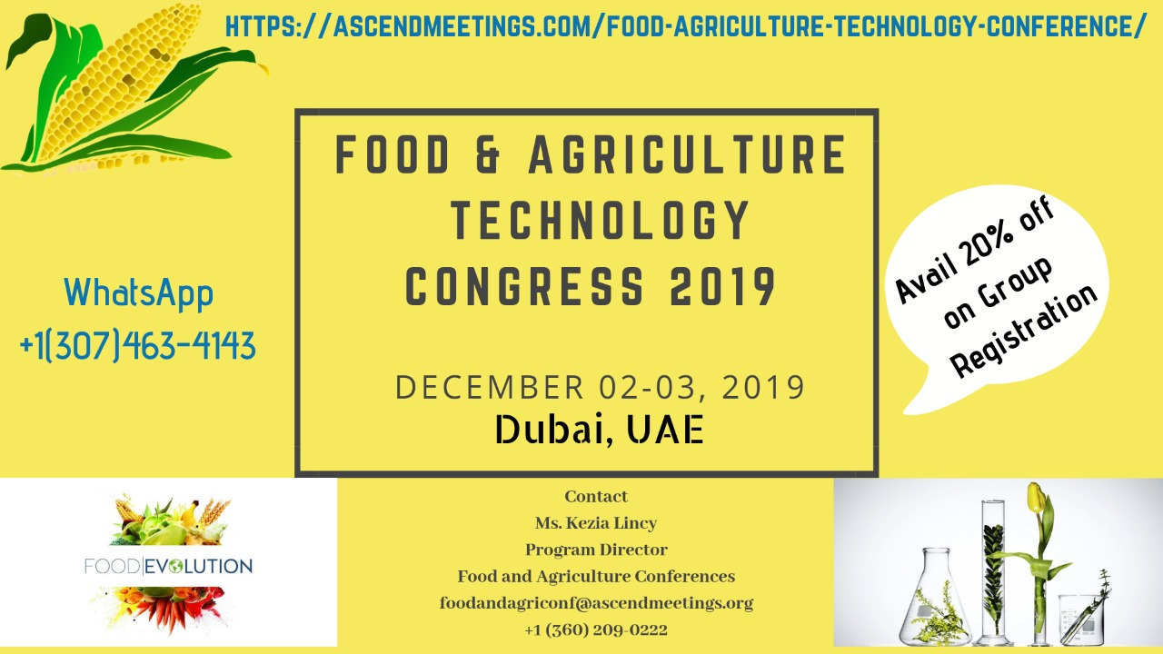Research and Industrial Experts Meeting on Food and Agriculture Technology (RIEMFAT2019)