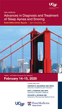 26th Annual Advances in Diagnosis and Treatment of Sleep Apnea and Snoring