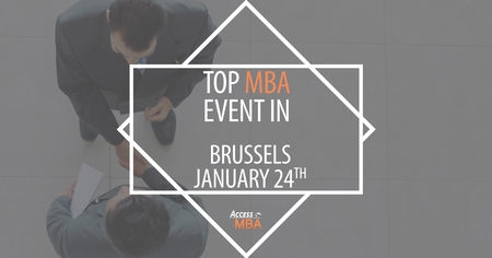 One-to-One MBA Event in Brussels, Spring 2019