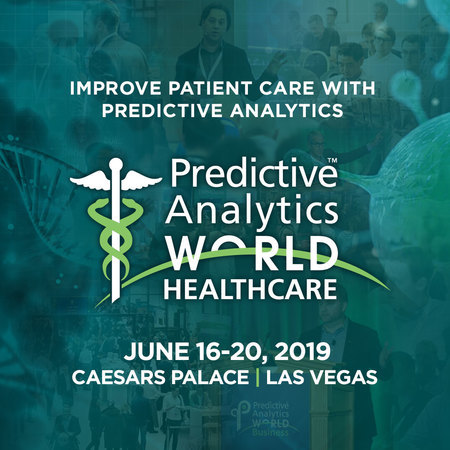 Predictive Analytics World for Healthcare - Las Vegas - June, 2019